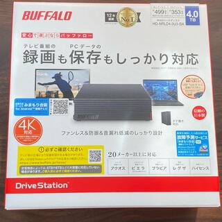 バッファロー(Buffalo)の【リョウ様用】BUFFALO HDD(4.0TB)(テレビ)