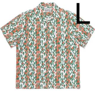 ワコマリア(WACKO MARIA)の【新品未使用・納品書付き】ワコマリア 21ss レオパード アロハシャツ L(シャツ)
