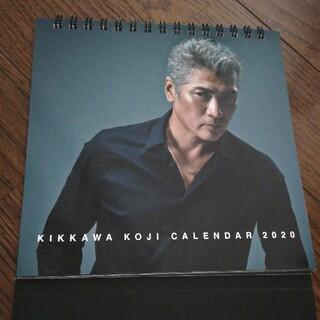 吉川晃司 2020年 使用済み卓上カレンダー(ミュージシャン)