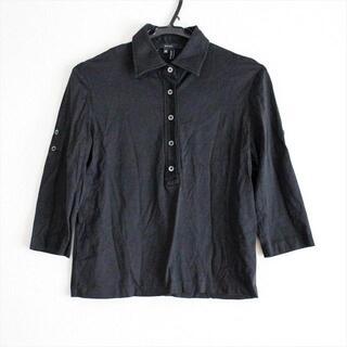 グッチ(Gucci)のグッチ 七分袖カットソー サイズXS 黒(カットソー(長袖/七分))