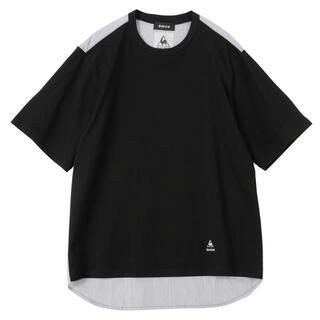 ZUCCa メンズ le coq sportif×ZUCCaドッキングTシャツ