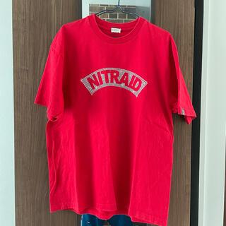 ナイトレイド(nitraid)のNITRAID アーチロゴ Tシャツ L(Tシャツ/カットソー(半袖/袖なし))