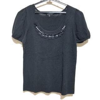トゥービーシック(TO BE CHIC)のトゥービーシック 半袖カットソー 3 L美品 (カットソー(半袖/袖なし))
