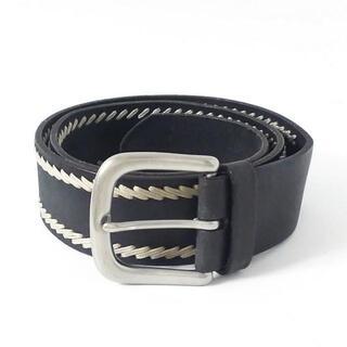 ラルフローレン(Ralph Lauren)のラルフローレン ベルト S 黒×グレー(ベルト)