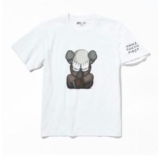 メディコムトイ(MEDICOM TOY)のユニクロ KAWS UT KAWS TOKYO FIRST限定 Sサイズ(Tシャツ/カットソー(半袖/袖なし))