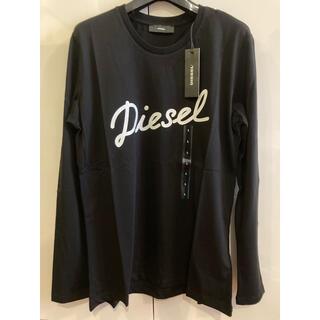 ディーゼル(DIESEL)の新品未使用!ディーゼル 長袖Tシャツ ブラックL(Tシャツ(長袖/七分))