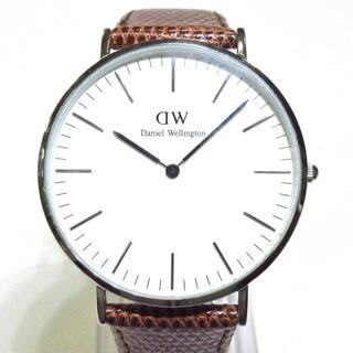 ダニエルウェリントン(Daniel Wellington)のダニエルウェリントン 腕時計美品  メンズ(その他)