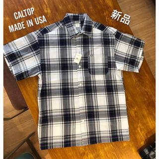 カルトップ(CALTOP)の新品 CALTOP USA製 半袖シャツ カルトップ キャルトップ M 半袖(シャツ)