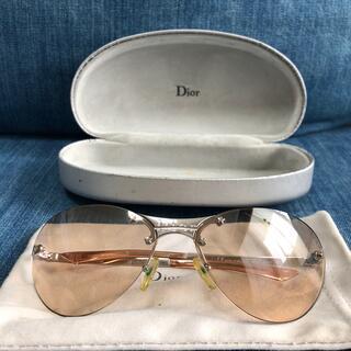 ディオール(Dior)のDior サングラス ディオール CD 星 スター 希少 ケース 袋 ブラウン(サングラス/メガネ)