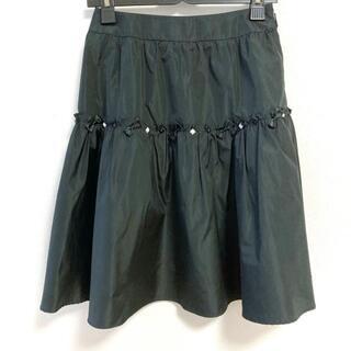ルネ(René)のルネ ロングスカート サイズ34 S - 黒×白(ロングスカート)