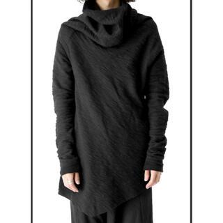 ユリウス(JULIUS)のA00122/JULIUSユリウスTWISTED COWL NECK カットソー(Tシャツ/カットソー(七分/長袖))