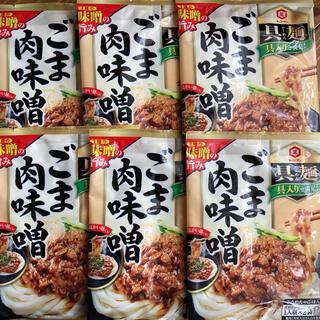 キッコーマン(キッコーマン)のキッコーマン食品 具麺 ぐーめん ごま肉味噌 120g ×6袋  12食分(レトルト食品)