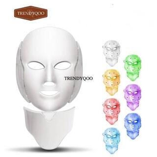 LEDマスクアンチリンクルニキビ除去顔の首の肌の若返り(パック/フェイスマスク)