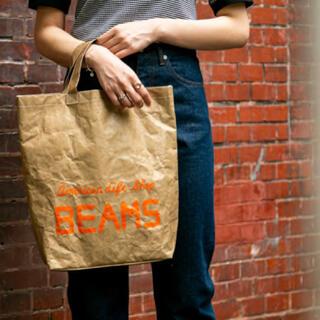 ビームス(BEAMS)の完全受注生産品 店頭販売無し 新品未使用 ビームス タイベックトートバッグ (トートバッグ)