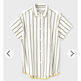 ポールスミス(Paul Smith)の39600円→新品タグ付ポールスミスストライプ シャーティングシャツ 半袖シャツ(シャツ/ブラウス(半袖/袖なし))