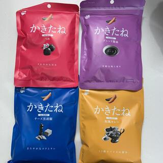 かきたね 柿の種4種 梅 ブレンド醤油 チーズ黒胡椒 和風カレー(菓子/デザート)