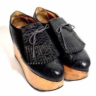 ヴィヴィアンウエストウッド(Vivienne Westwood)のゆきんこ様専用 お取り置きヴィヴィアンウエストウッド ロッキンホース ゴルフ 黒(ローファー/革靴)
