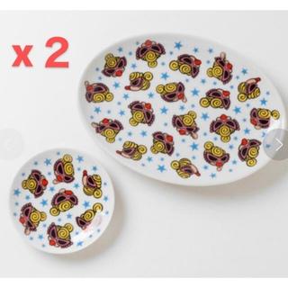 ヒステリックミニ(HYSTERIC MINI)の新品 ヒスミニ 食器 餃子皿セット(食器)