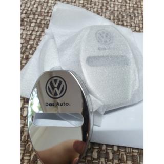 フォルクスワーゲン(Volkswagen)のVW ドアストライカーカバー(シルバー)ドアストッパーカバー・8個セット(車種別パーツ)