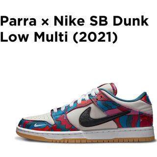 ナイキ(NIKE)のParra × NikeSB Dunk Low Pro Abstract Art(スニーカー)