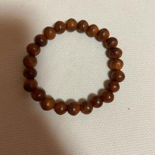 ブレスレット 数珠 木製(ブレスレット)