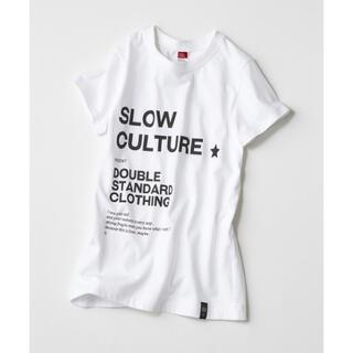 ダブルスタンダードクロージング(DOUBLE STANDARD CLOTHING)のダブルスタンダード Tシャツ(Tシャツ(半袖/袖なし))