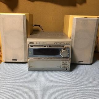 ビクター(Victor)のVictor/ビクター MD2枚/CD3枚チェンジャー/MD/FM-AMラジオ(その他)