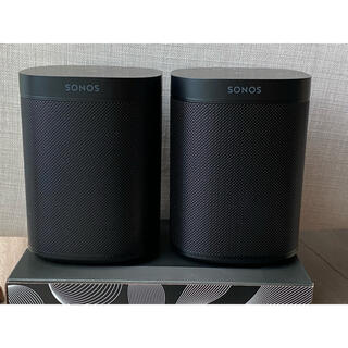 AirPlay2スピーカー SONOS ONE gen2 + SONOS ONE(スピーカー)