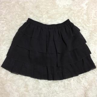 ローリーズファーム(LOWRYS FARM)のLOWRYS FARM♡黒スカート(ミニスカート)