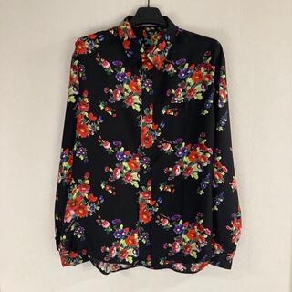ディオールオム(DIOR HOMME)の【最終値下げ】Dior homme × Kaws 19ss シルクシャツ(シャツ)