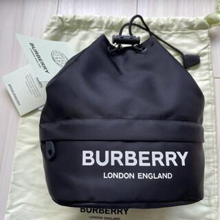【定価6.3万円】BURBERRY ドローコード ポーチ 未使用品(ショルダーバッグ)