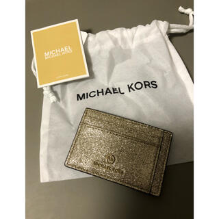 マイケルコース(Michael Kors)のMICHAEL MICHAEL KORS  IDカードケース スモール(名刺入れ/定期入れ)