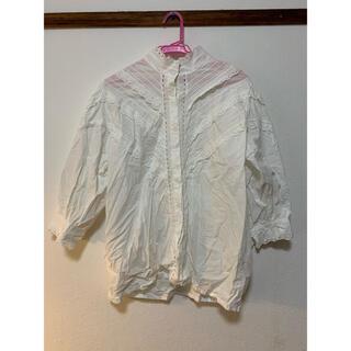 ディーホリック(dholic)のふわふわシャツ(Tシャツ(長袖/七分))