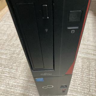 フジツウ(富士通)の富士通 D552/KX   office2010付属します(デスクトップ型PC)