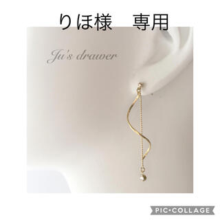 りほ様 専用ページ(ピアス)
