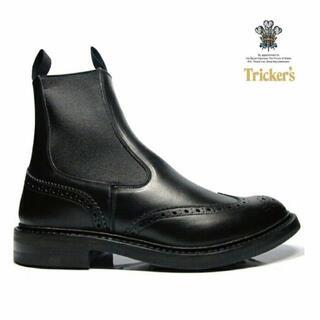 Trickers - TRICKER'S 27.0cm UK8.5 サイドゴア ヘンリー
