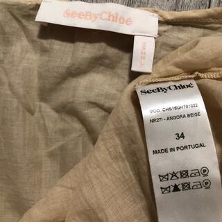 シーバイクロエ(SEE BY CHLOE)のSeeByChloe シーバイクロエ トップス(カットソー(半袖/袖なし))