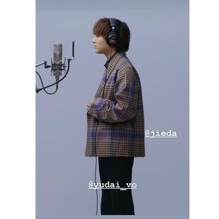 ジエダ(Jieda)のCHECK DOUBLE TAILORED JACKET  20AW(テーラードジャケット)