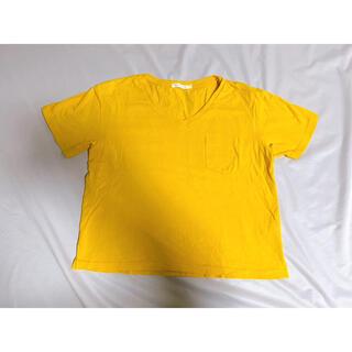 ウィゴー(WEGO)のTシャツ イエロー 黄色(Tシャツ/カットソー(半袖/袖なし))