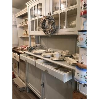 フランフラン(Francfranc)のアンティーク 食器棚(キッチン収納)