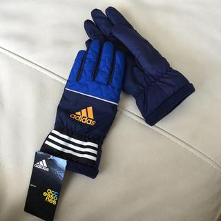 アディダス(adidas)のadidas新品手袋&ジャージ上下140サイズ(手袋)