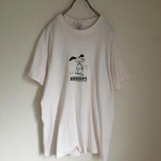 スヌーピー(SNOOPY)の80s  usa製 vintage PEANUTS スヌーピー tシャツ(Tシャツ/カットソー(半袖/袖なし))