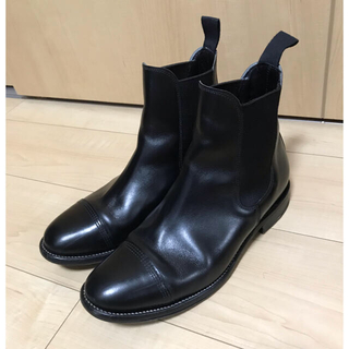 コモリ(COMOLI)のcomoli × sanders サイドゴアブーツ キャップトゥチェルシーブーツ(ブーツ)