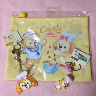 ダッフィー(ダッフィー)の新品未使用 香港ディズニー限定 クッキー 3点セット(キャラクターグッズ)