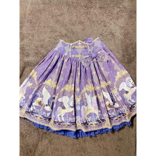 アンジェリックプリティー(Angelic Pretty)のCrystal Dream Carnivalスカート(ひざ丈スカート)