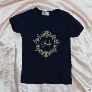 レディー(Rady)のちびRady フレームRadyTシャツ 100(Tシャツ/カットソー)