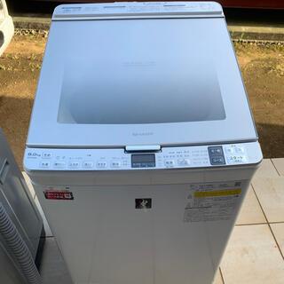 SHARP - 洗濯機 SHARP ES-PX8D 乾燥付 2020年 美品