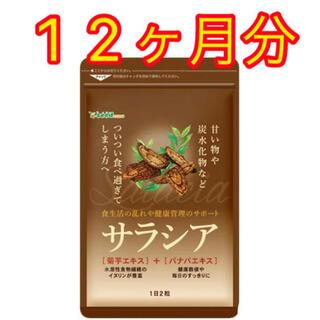 【新品未開封】サラシア 12ヶ月分(ダイエット食品)