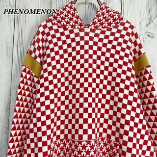 フェノメノン(PHENOMENON)の《日本製》フェノメノン PHENOMENON フラッグチェック パーカー L(パーカー)