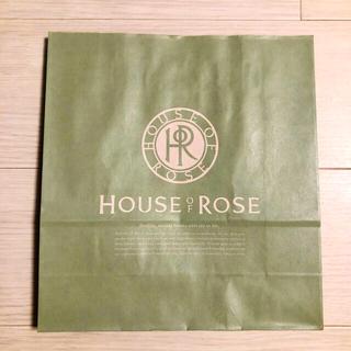 ハウスオブローゼ(HOUSE OF ROSE)のハウスオブローゼ ショッパー ショップ袋 紙袋(ショップ袋)